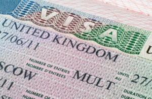 صورة التأشيرة